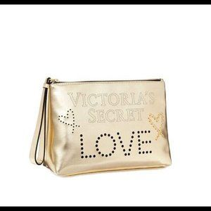 VICTORIA'S SECRET. Love Perforated Beauty Bag